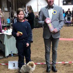 Vinnare av Barn med Hund.